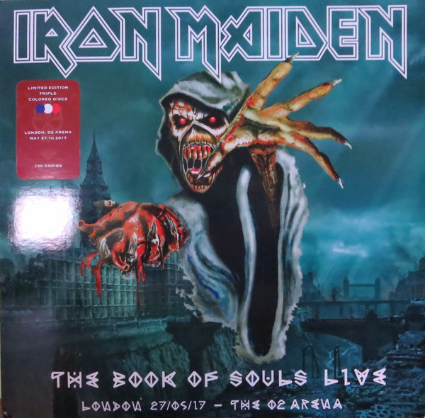 Download torrent Iron Maiden - The Book of Souls Live - London 27/05/2017 - The O2 Arena (2018)